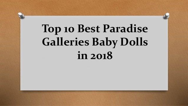 Top 10 Best Paradise Galleries Baby Dolls in 2018
