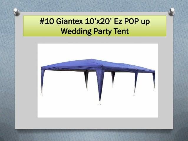 Top 10 best party tents in 2017 Slide 2
