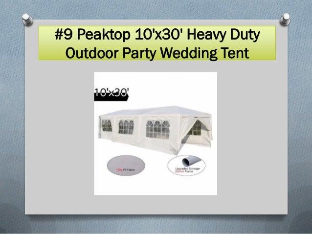Top 10 best party tents in 2017 Slide 3