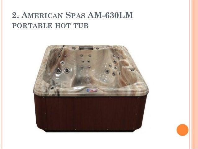 AMERICAN SPAS AM 630LM PORTABLE HOT TUB ...