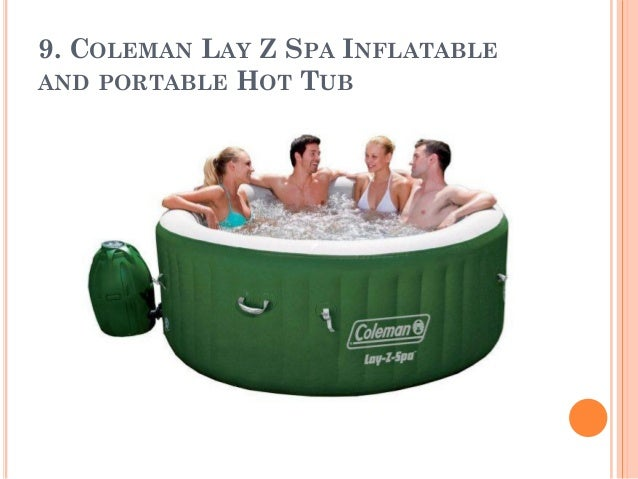 COLEMAN LAY Z SPA INFLATABLE AND PORTABLE HOT TUB ...