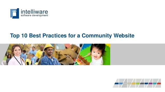 Top 10 Best Practices for a Community Website