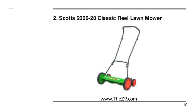 Top 10 best reel lawn mowers reviews