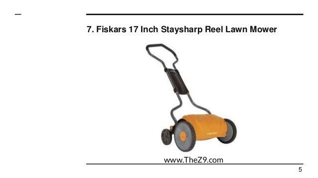 Top 10 best reel lawn mowers reviews