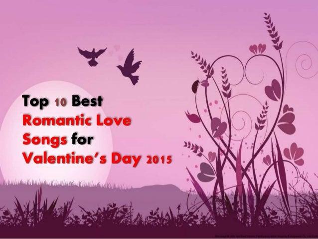 Top romantic love songs