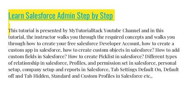 Salesforce Admin Topics To Learn