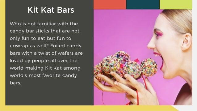 5. Kit Kat Bars ...