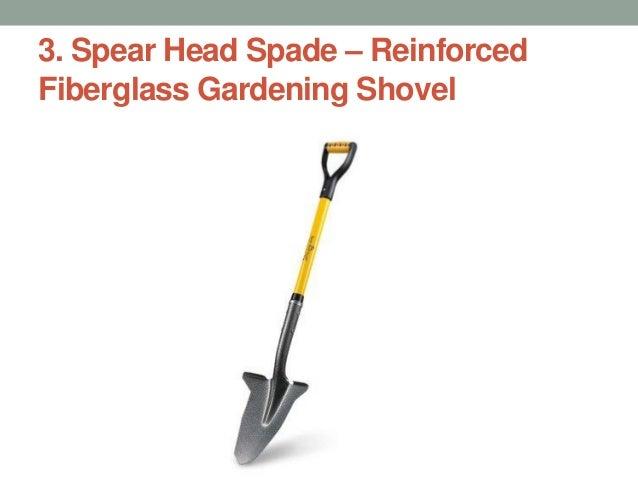 Spear Head Spade U2013 Reinforced Fiberglass Gardening Shovel ...