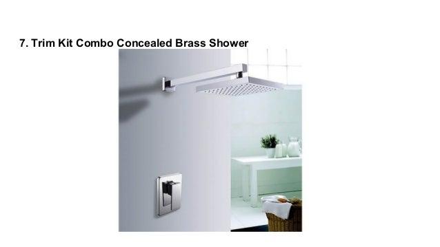 Trim Kit Combo Concealed Brass Shower ...