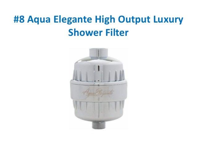 Top 10 Best Shower Head Filters Reviews