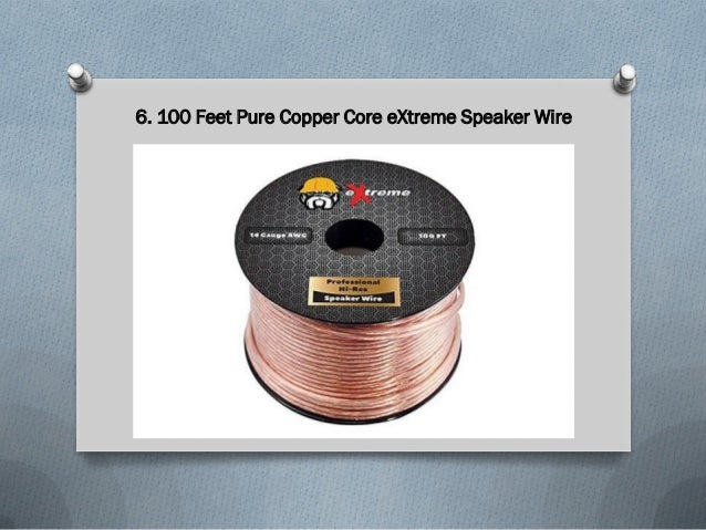 Top 10 Best Speaker Wire Cables in 2018 Reviews