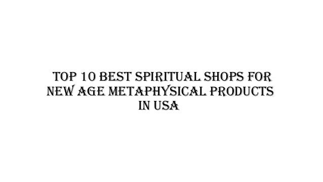 Top 10 best spiritual shops for new age metaphysical products