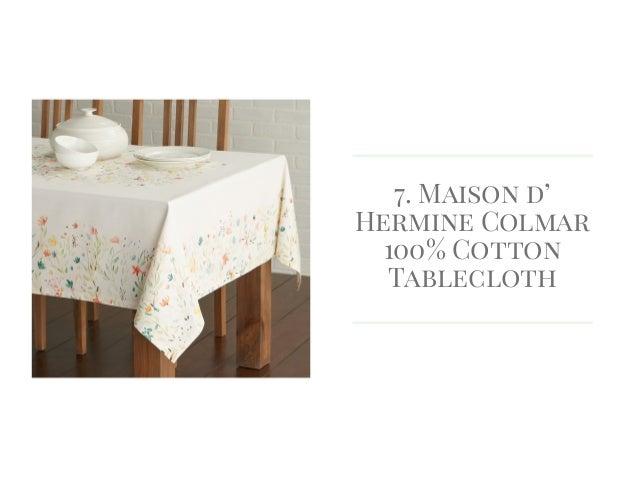 Maison Du0027 Hermine Colmar 100% Cotton Tablecloth ...