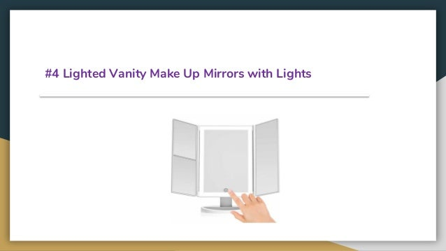 Top 10 Best Vanity Make Up Mirrors With Lights In 2019 Review