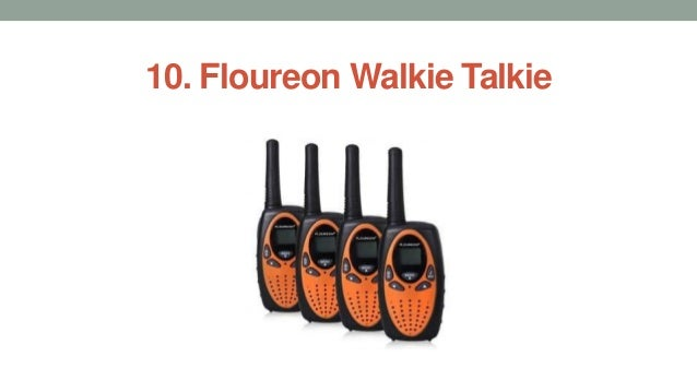 Top 10 best walkie talkies in 2017