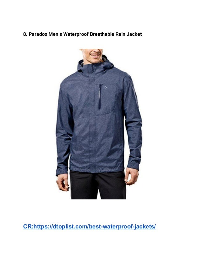 77c1a326cb ... 4. 8. Paradox Men s Waterproof Breathable Rain Jacket ...