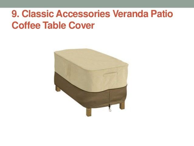 Classic Accessories Veranda Patio Coffee Table Cover ...