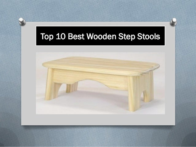 Top 10 Best Wooden Step Stools