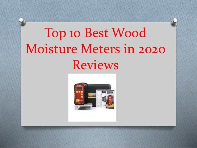 Top 10 Best Wood Moisture Meters in 2020 Reviews