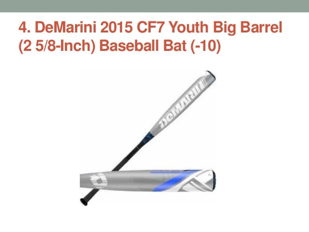 Top 10 best youth big barrel bats in 2017