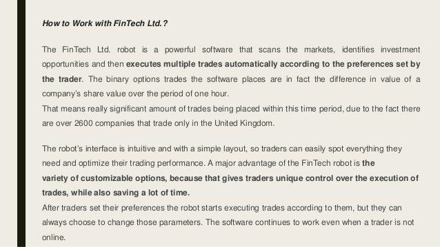 Fintech Ltd Erfahrung