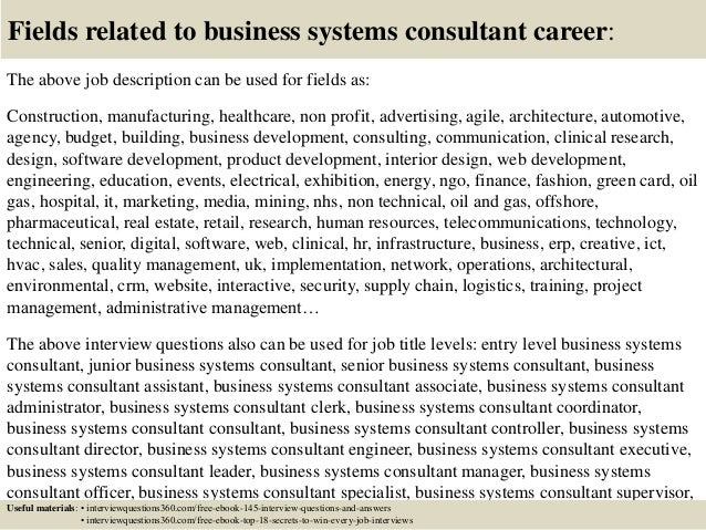consulting interview questions and answers pdf