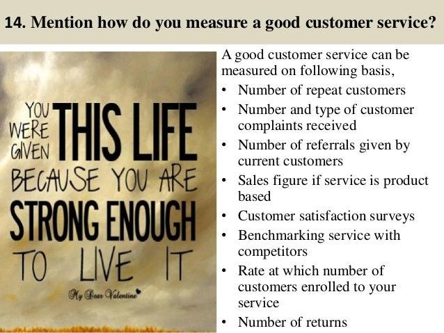 What Is Good Customer Service Interview Rome Fontanacountryinn Com