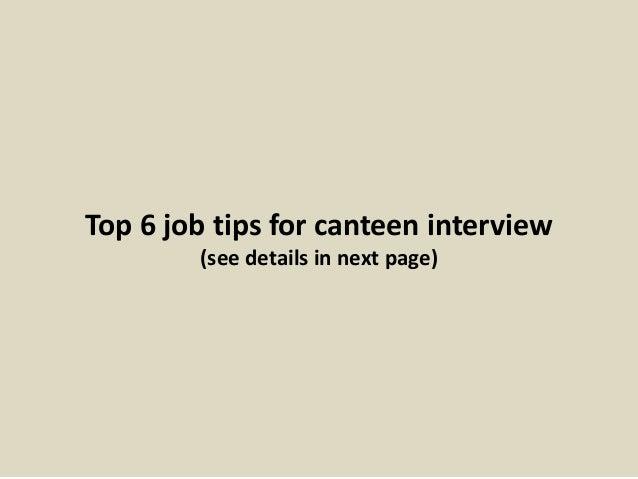 13. Top 6 Job ...