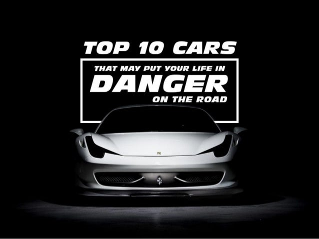 Dangers on the road