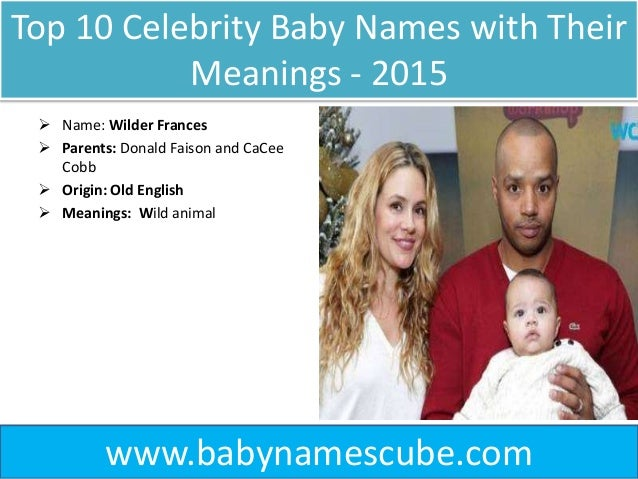 The Best and Worst Celebrity Baby Names of 2018 | Baby ...