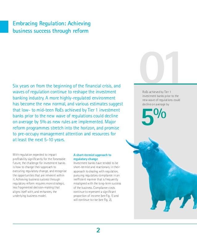 Top Ten Challenges for Investment Banks 2015: Regulation