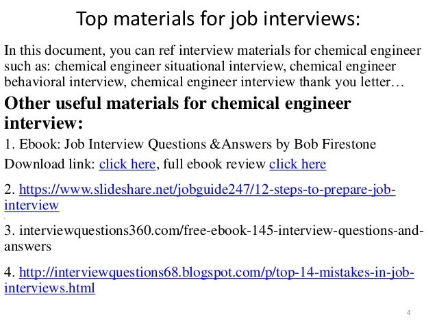 Chemical Engineering Interview Questions And Answers Pdf