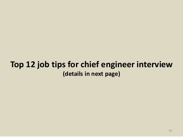 Top 52 chief engineer interview questions and answers pdf 61 62 fandeluxe Choice Image