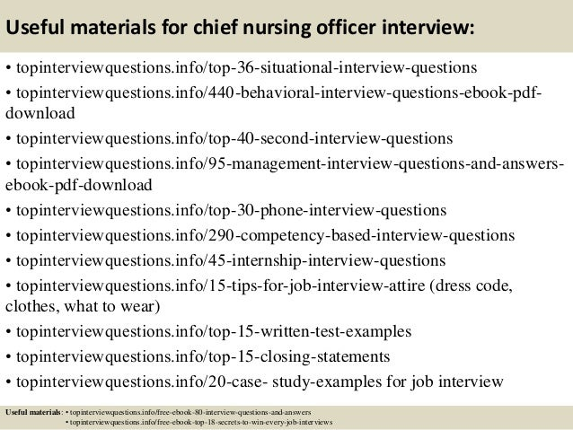 top 10 chief nursing officer interview questions and answers