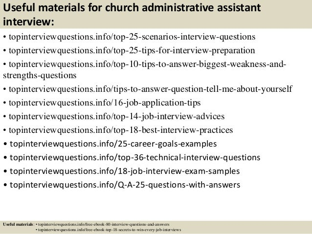 13 useful materials for church administrative assistant - Church Administrative Assistant Salary