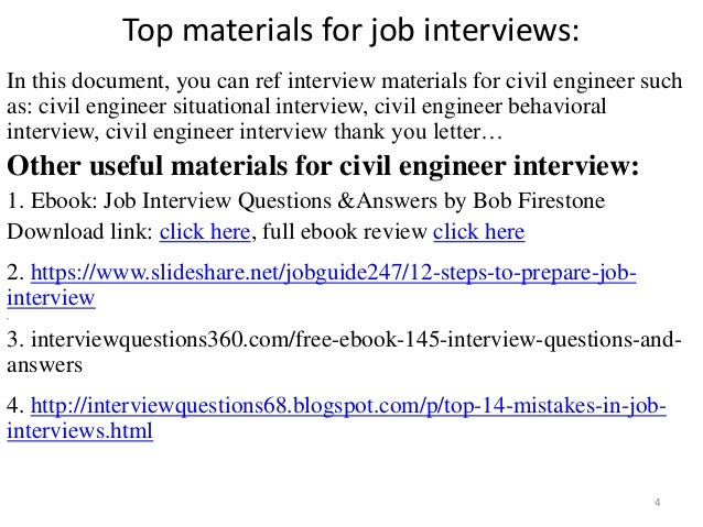 Top 52 civil engineer interview questions and answers pdf fandeluxe Gallery