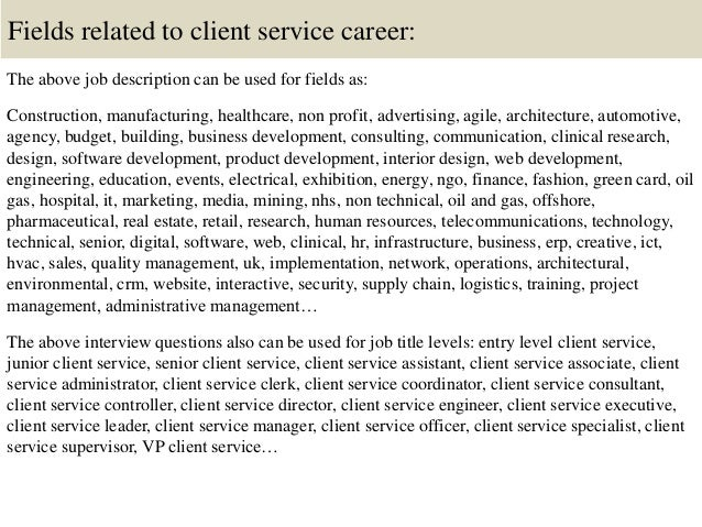Top 10 Client Service Interview Questions And Answers