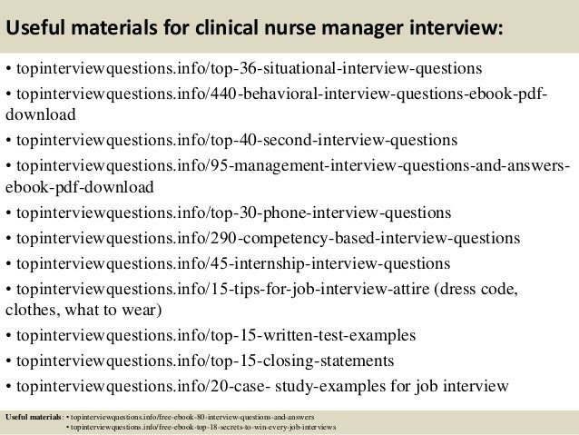 Nice Case Manager Interview Questions And Answers. Top 10 Clinical Nurse Manager  Interview Questions ...  Case Manager Interview Questions
