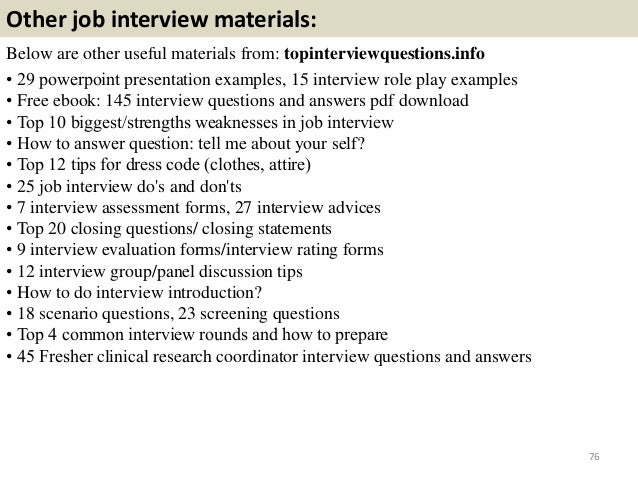 top 52 clinical research coordinator interview questions