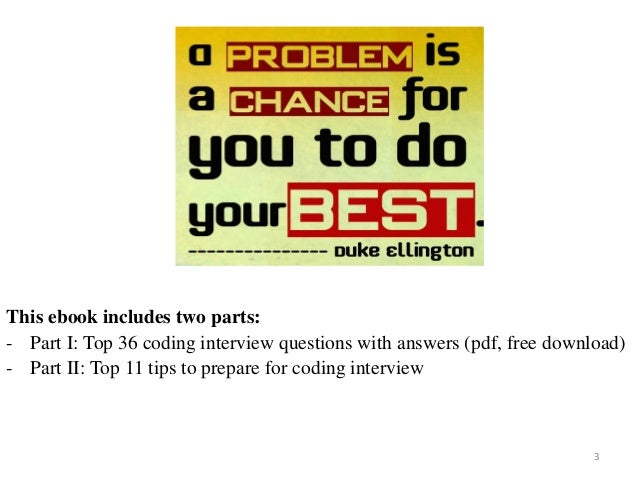 Top 36 coding interview questions with answers pdf top 36 coding interview questions with answers on mar 2017 3 3 this ebook fandeluxe Choice Image