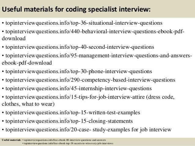 medical coding interview questions and answer The Truth