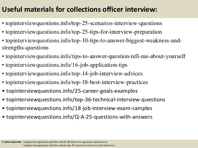 SlideShare  Debt Collector Job Description
