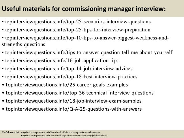 ... 13. Useful Materials For Commissioning Manager ...