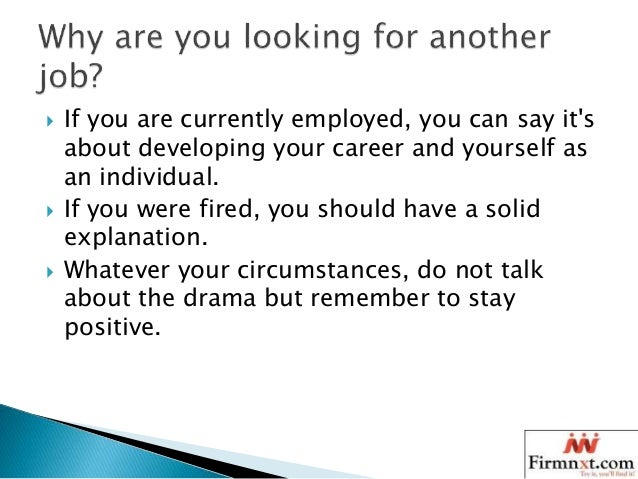 SlideShare  Common Interview Questions