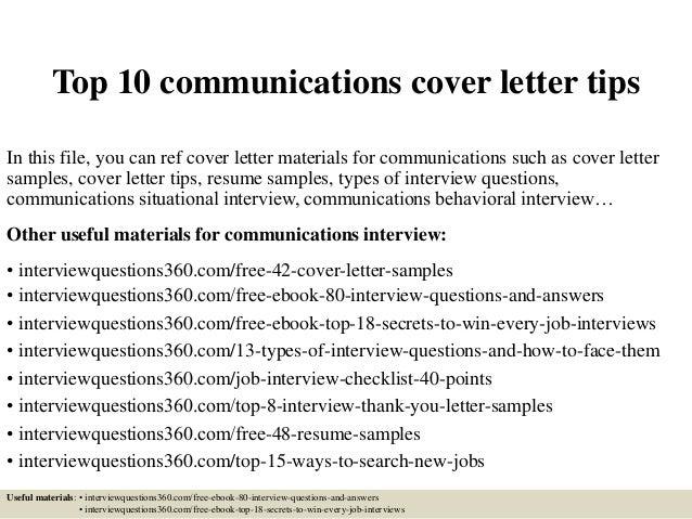 cover letter for telecommunication job - April.mydearest.co