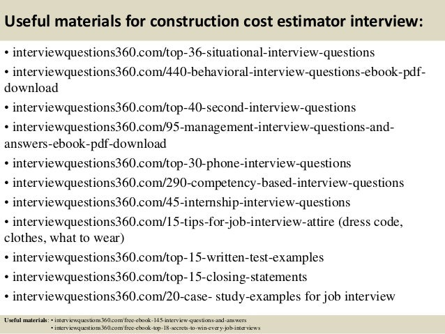 Browse resume cost estimator