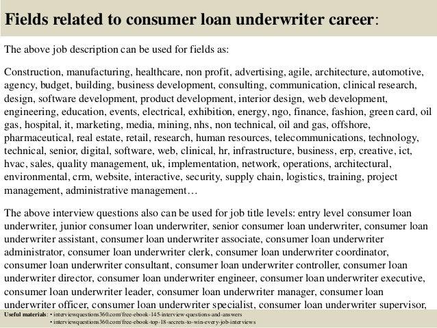 define underwriting assistant