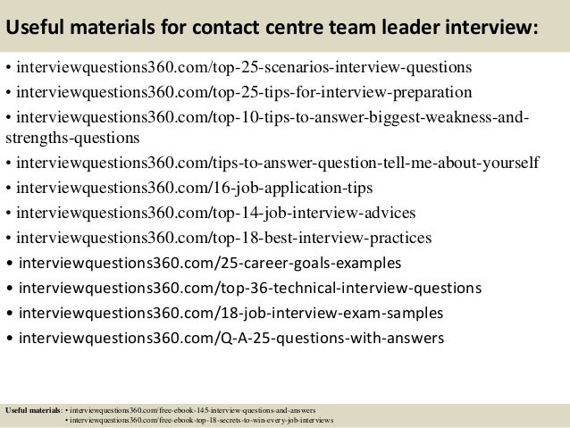 ... 14. Useful Materials For Contact ...