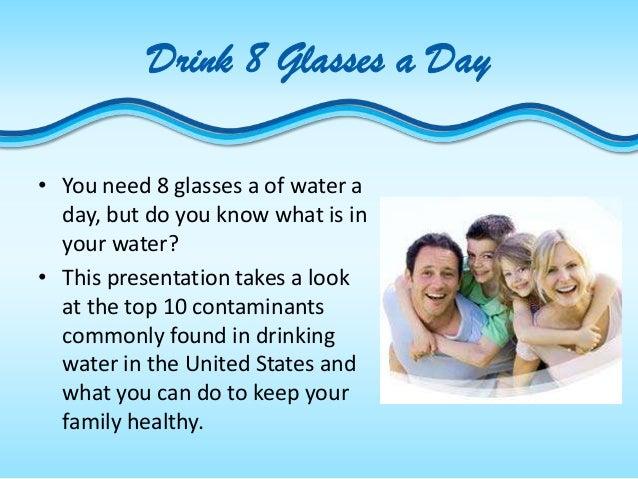 Top 10 Contaminants in Drinking Water Slide 2