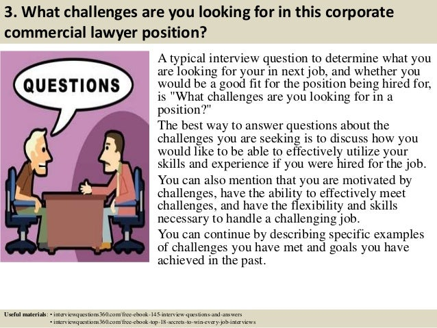 5 3 - Lawyer Interview Questions And Answers